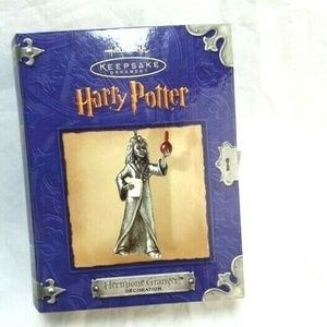 Harry Potter Hallmark Keepsake Pewter Ornament